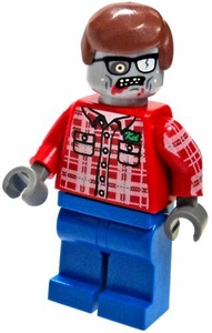 LEGO Zombie LOOSE Custom Mini Figure Plaid Zombie V2