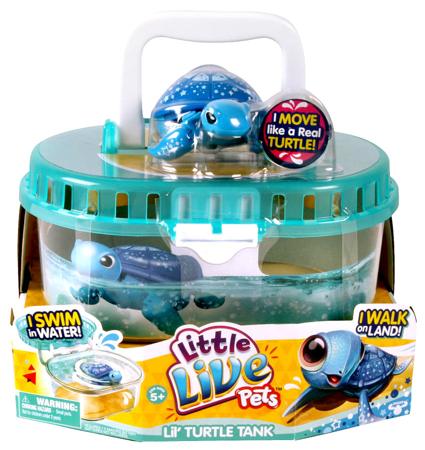 Little Live Pets Lil Turtle Tank Playset with Starry on sale at ...