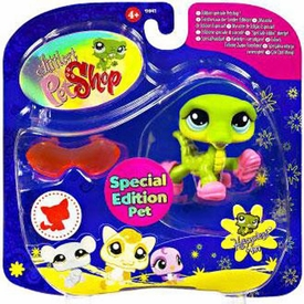 Littlest Pet Shop 2009 Assortment 'B' Series 3 Collectible Figure Crocodile [Special Edition Pet!]