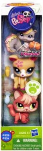 Littlest Pet Shop 3-Pack Squirrel, Deer & Fox