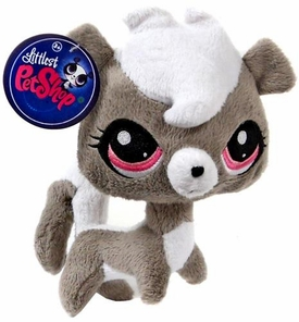 Littlest Pet Shop 6 Inch Plush Pet Figure Pepper Clark Skunk