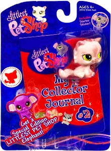 Littlest Pet Shop Activity Set My Collector Journal with Pink Kitty