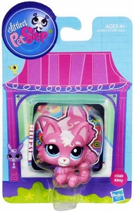 Littlest Pet Shop Bobble in Style Figure #3561 Kitty New!