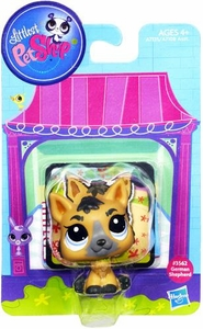 Littlest Pet Shop Bobble in Style Figure #3562 German Shepherd