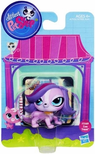Littlest Pet Shop Bobble in Style Figure #3569 Zoe Trent