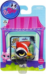 Littlest Pet Shop Bobble in Style Figure #3571 Woodpecker New!
