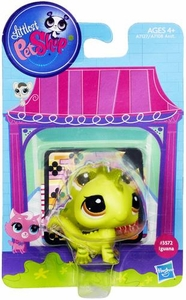 Littlest Pet Shop Bobble in Style Figure #3572 Iguana
