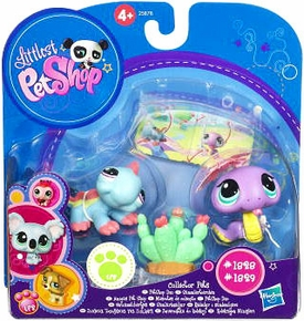 Littlest Pet Shop Collector Pet Pairs Series 1 Figures Snake & Iguana
