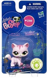 Littlest Pet Shop Get The Pets Single Figure Pink Cat