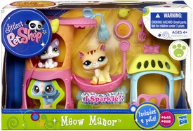 Littlest Pet Shop Playset Meow Manor [Kitty Condo]
