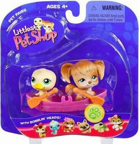 Littlest Pet Shop Pet Pairs Figures Ducky & Doggy