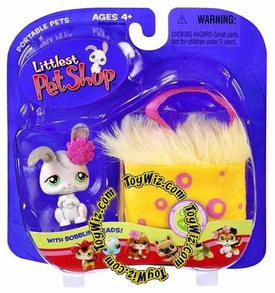 Littlest Pet Shop Pets On the Go Bunny in Basket