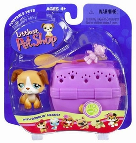 Littlest Pet Shop Pets On the Go Dog with Carrier