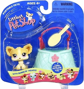 Littlest Pet Shop Pets On The Go Figure Chihuahua with Purse