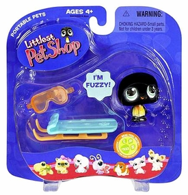 Littlest Pet Shop Pets On the Go Figures Penguin with Sled
