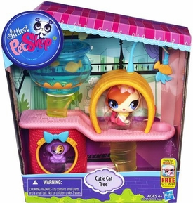Littlest Pet Shop Playset Cutie Cat Tree