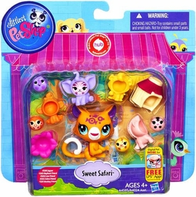Littlest Pet Shop Playset Sweet Safari