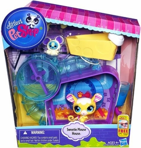 Littlest Pet Shop Playset Sweetie Mouse House
