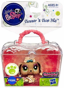 Littlest Pet Shop Shimmer 'N Shine Figure #2155 Lhasa Apso