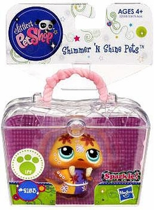 Littlest Pet Shop Shimmer 'N Shine Figure #2513 Walrus