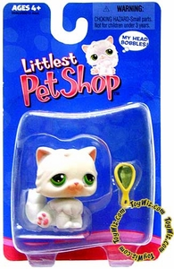 Littlest Pet Shop Single Pack Figure White Persian