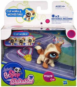 Littlest Pet Shop Walkables Figure #2375 Cat