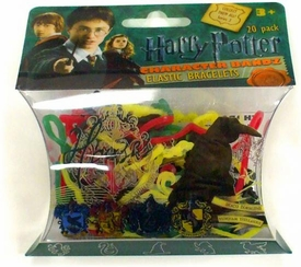 Logo Bandz Shaped Rubber Band Bracelets 20-Pack Harry Potter Houses