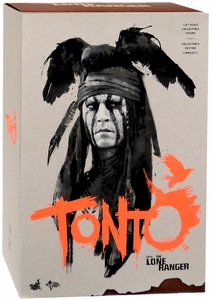 Lone Ranger Hot Toys 1/6 Scale Collectible Figure Tonto New!