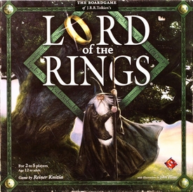 Lord of the Rings Fantasy Flight Board Game