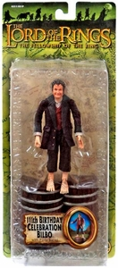Lord of the Rings Fellowship of the Ring Action Figure 111th Birthday Celebration Bilbo [Brown Coat]