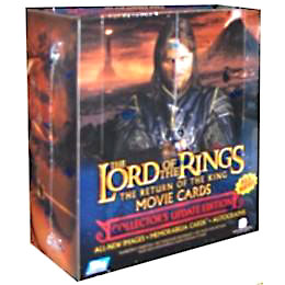 Lord of the Rings Topps Return of the King Movie Update Collection Card Box