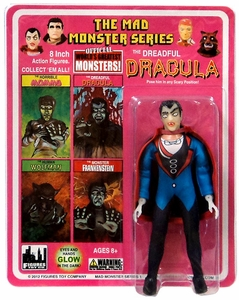 Mad Monster 8 Inch Action Figure The Dreadful Dracula New!