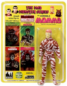 Mad Monster 8 Inch Action Figure The Horrible Mummy New!