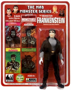 Mad Monster 8 Inch Action Figure The Monster Frankenstein New!