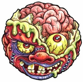 Madballs Classic Series 1 Mad Ball Bash Brain