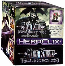 Mage Knight: Resurrection Gravity Feed Box [24 Packs]