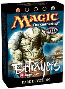 Magic the Gathering Betrayers of Kamigawa Theme Deck Dark Devotion