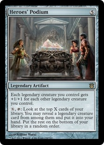 Magic: The Gathering Born of the Gods Single Card Artifact Rare #159 Heroes' Podium