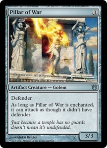 Magic: The Gathering Born of the Gods Single Card Artifact Uncommon #160 Pillar of War