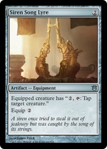 Magic: The Gathering Born of the Gods Single Card Artifact Uncommon #161 Siren Song Lyre