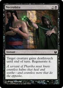 Magic: The Gathering Born of the Gods Single Card Black Common #77 Necrobite