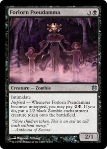 Magic: The Gathering Born of the Gods Single Card Black Uncommon #71 Forlorn Pseudamma