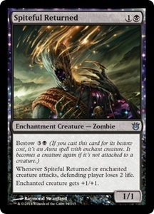 Magic: The Gathering Born of the Gods Single Card Black Uncommon #84 Spiteful Returned