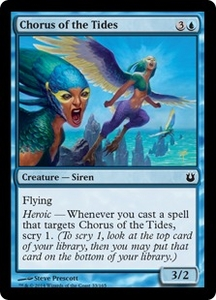 Magic: The Gathering Born of the Gods Single Card Blue Common #33 Chorus of the Tides