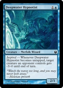 Magic: The Gathering Born of the Gods Single Card Blue Common #35 Deepwater Hypnotist