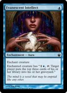 Magic: The Gathering Born of the Gods Single Card Blue Common #38 Evanescent Intellect