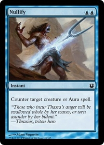 Magic: The Gathering Born of the Gods Single Card Blue Common #45 Nullify