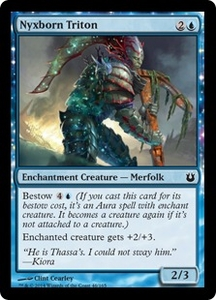 Magic: The Gathering Born of the Gods Single Card Blue Common #46 Nyxborn Triton