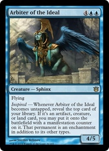 Magic: The Gathering Born of the Gods Single Card Blue Rare #31 Arbiter of the Ideal