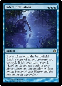 Magic: The Gathering Born of the Gods Single Card Blue Rare #39 Fated Infatuation